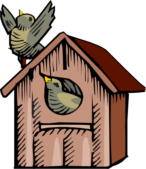 picture free download Free cliparts download clip. Birdhouse clipart.