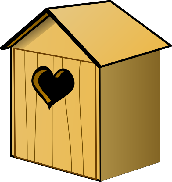 royalty free stock Clip art at clker. Birdhouse clipart