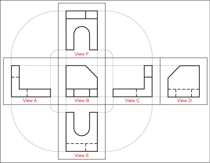 vector orthographic