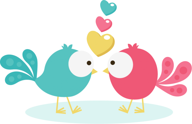 jpg free stock Birds In Love SVG Scrapbook Collection valentines day svg files for