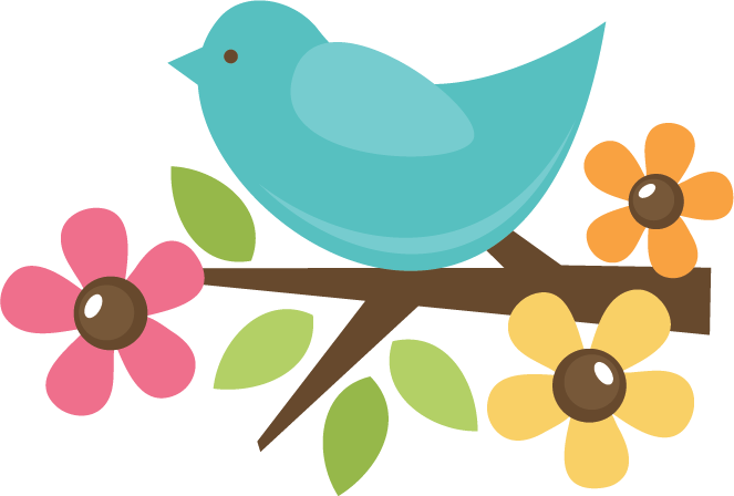 clip art freeuse library Bird On Twig SVG cut file for scrapbooking svg files bird svg cut