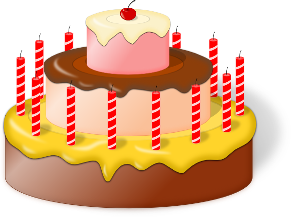 image royalty free download Cake Clip Art at Clker