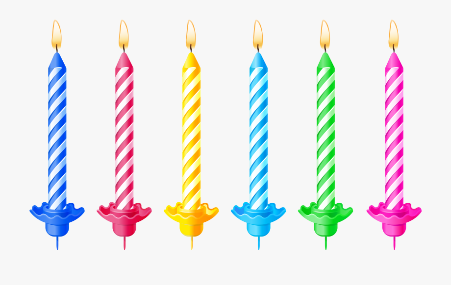 banner download Candles clipart picture . Transparent candle birthday