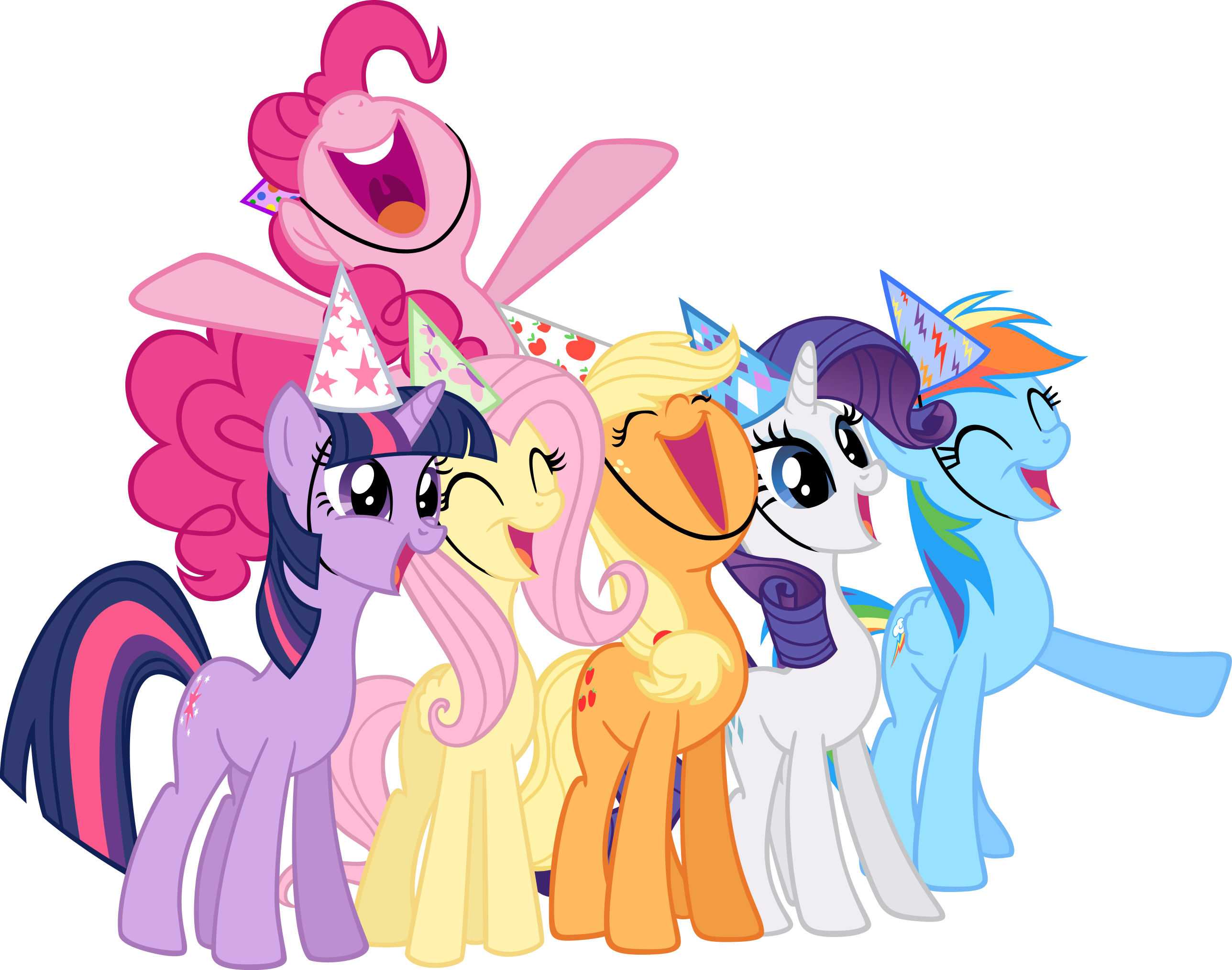 svg free stock Birthday clipart my little pony. Image friendship is magic.