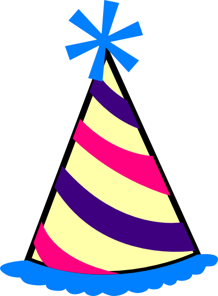 free library Birthday Hat Transparent Background