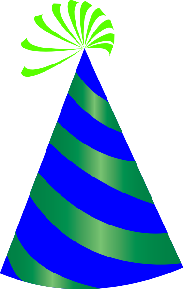 vector freeuse library Free Birthday Party Hat Clipart