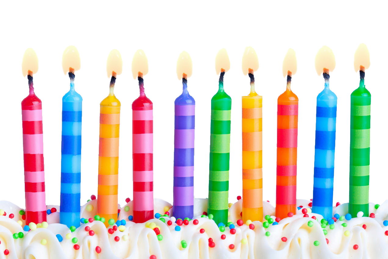 clip art royalty free Candles png images pluspng. Transparent candle birthday