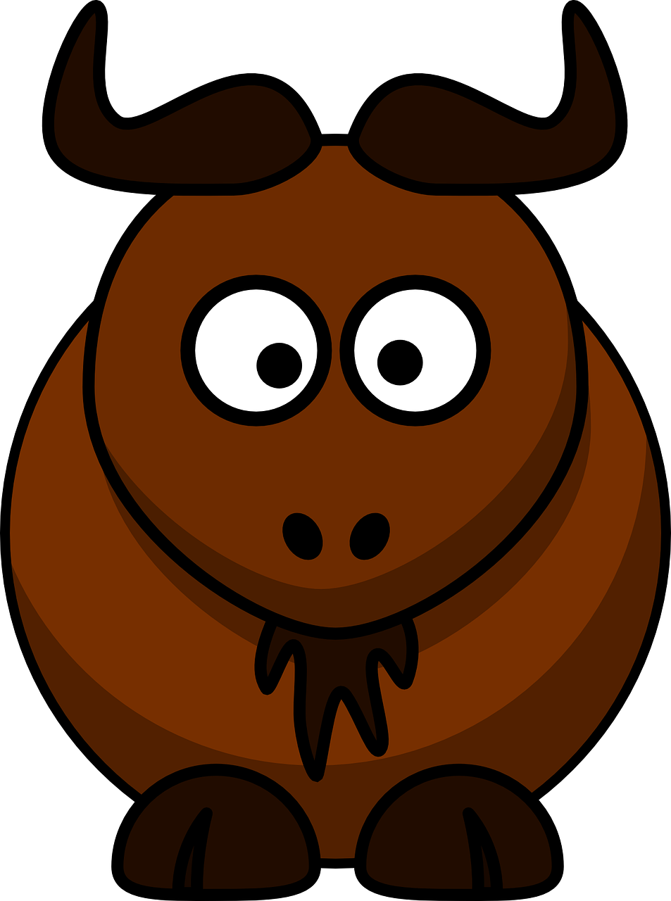 clipart freeuse stock Buffalo clipart face. Free image on pixabay