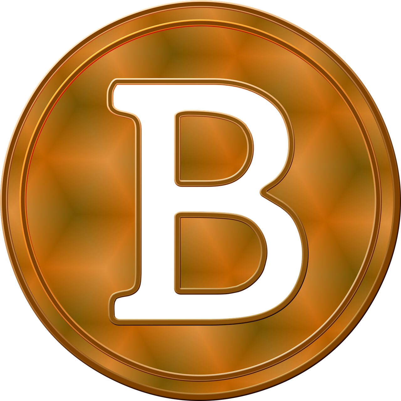 clip art download Coin money virtual cryptocurrency. Bitcoin transparent currency