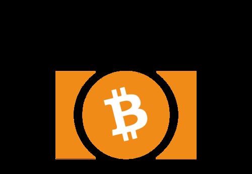 clip art black and white Bitcoin transparent double. Cash digit gain while