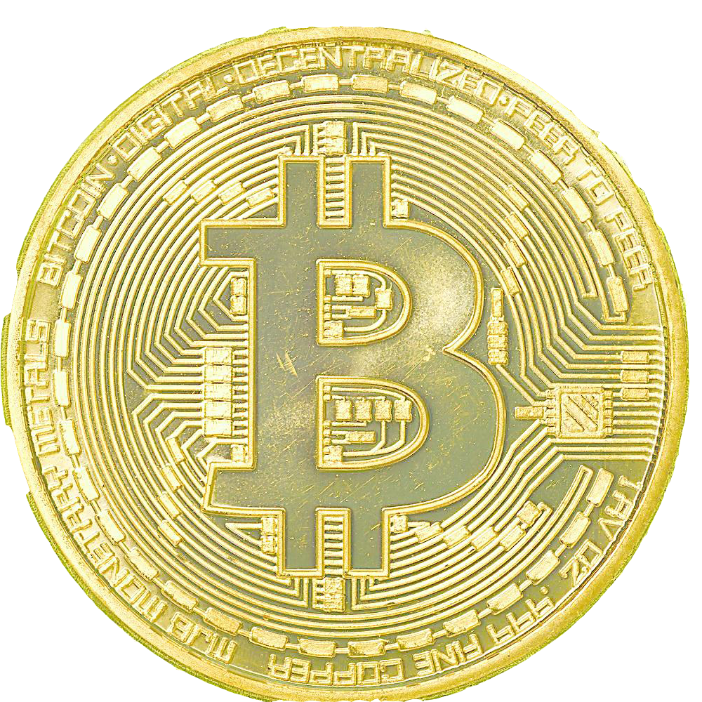 svg black and white stock Plating collecting material. Bitcoin transparent gold plated