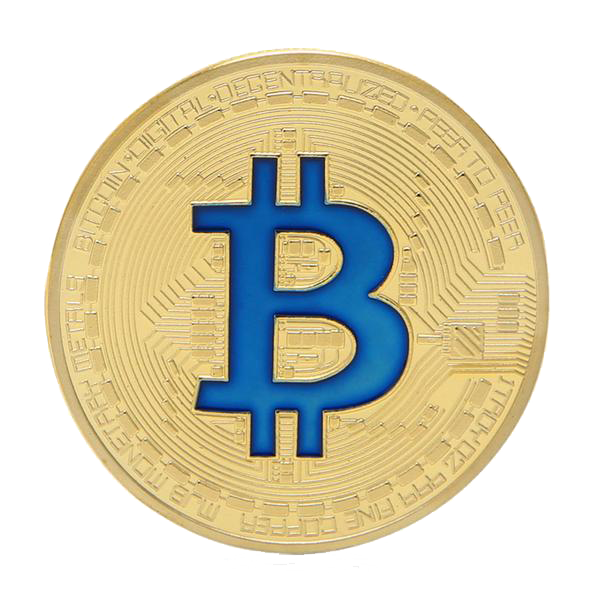 image black and white library Colored sign collectible physical. Bitcoin transparent gold plated