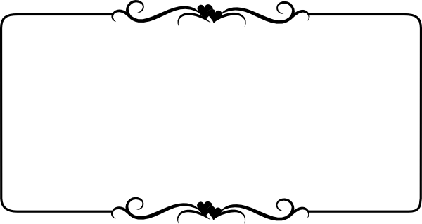 svg royalty free download White . Clipart border