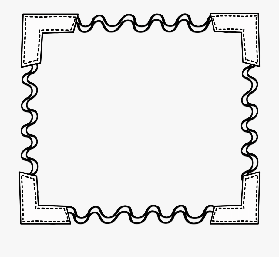 graphic transparent Simple apple border clip. Borders clipart black and white