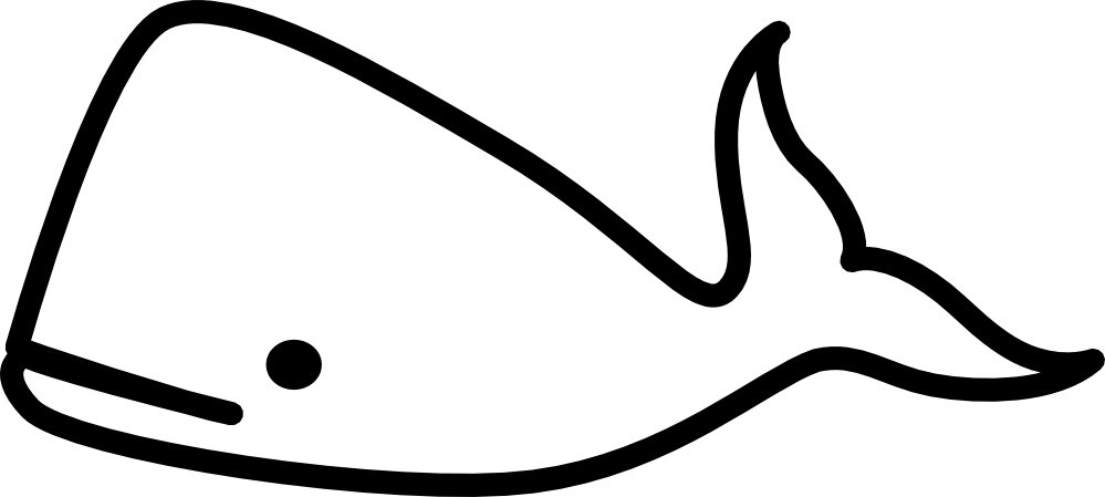 svg library Whale clip art panda. Black and white clipart
