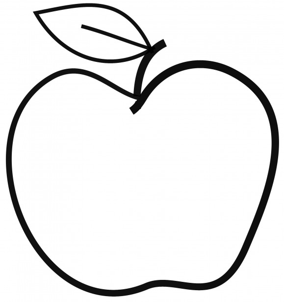 vector black and white stock Free apple download clip. Black and white apples clipart.