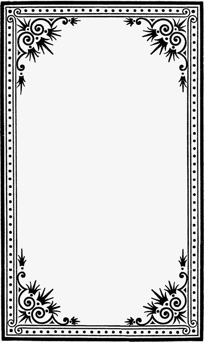 jpg royalty free Black and white clipart borders. Millions of png images.