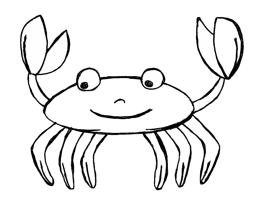 svg free Black and white clipart rainbow. Free crab cliparts download
