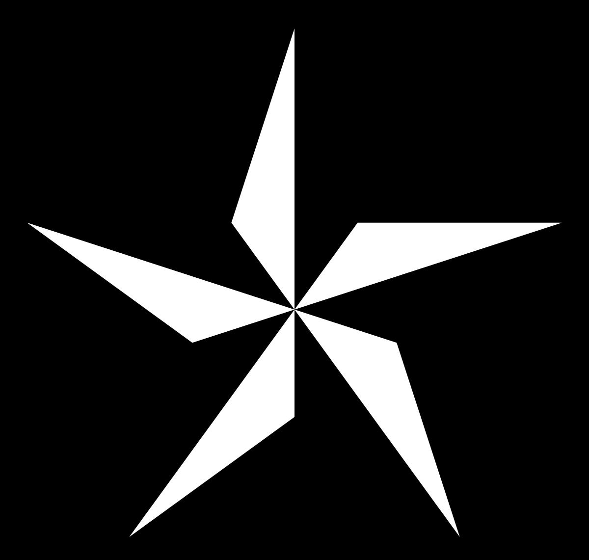 clipart stock Black and white clipart stars. Nautical star wikipedia