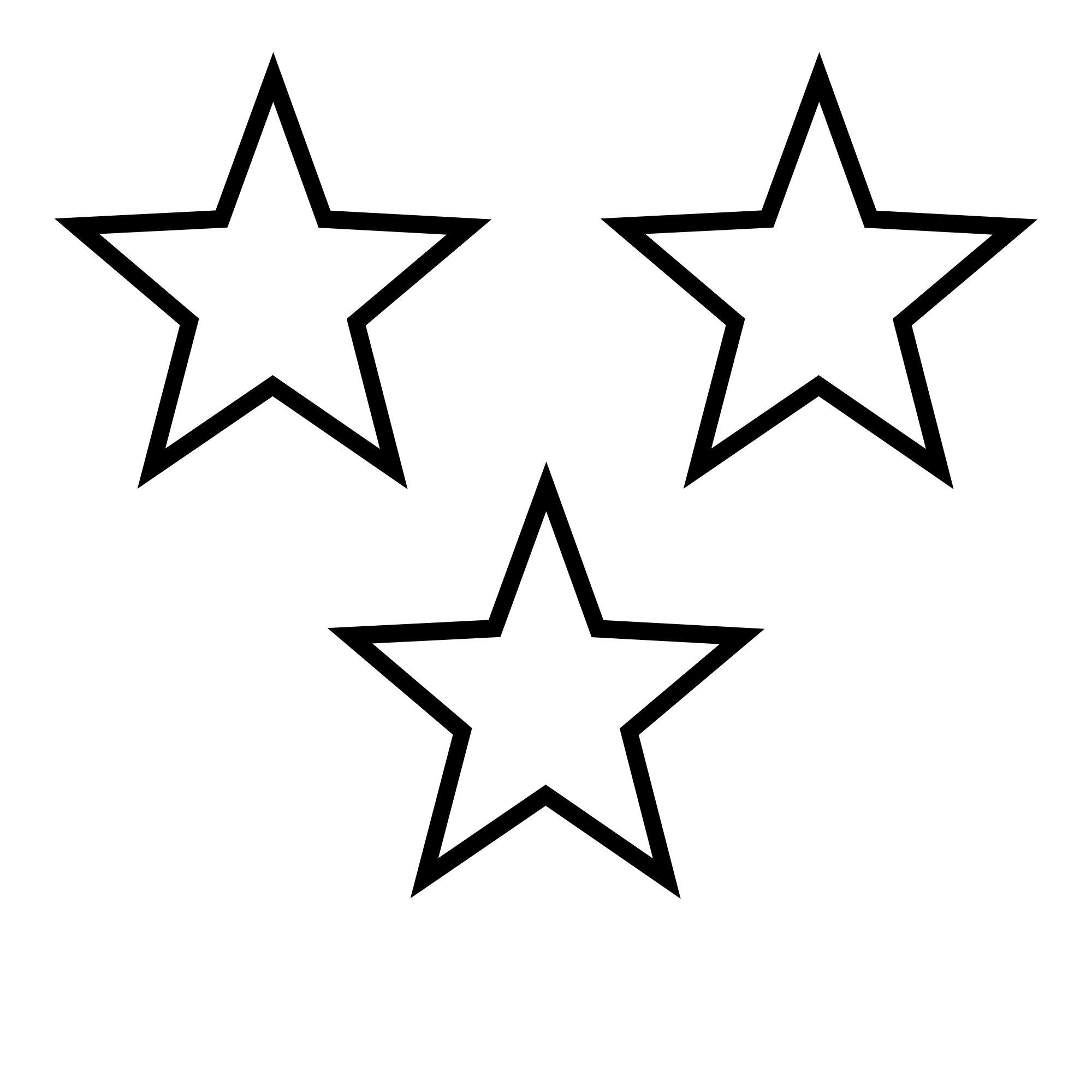 jpg library Png star transparent images. Black and white clipart stars