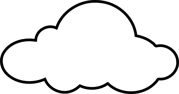 picture royalty free download White Cloud Clip Art at Clker