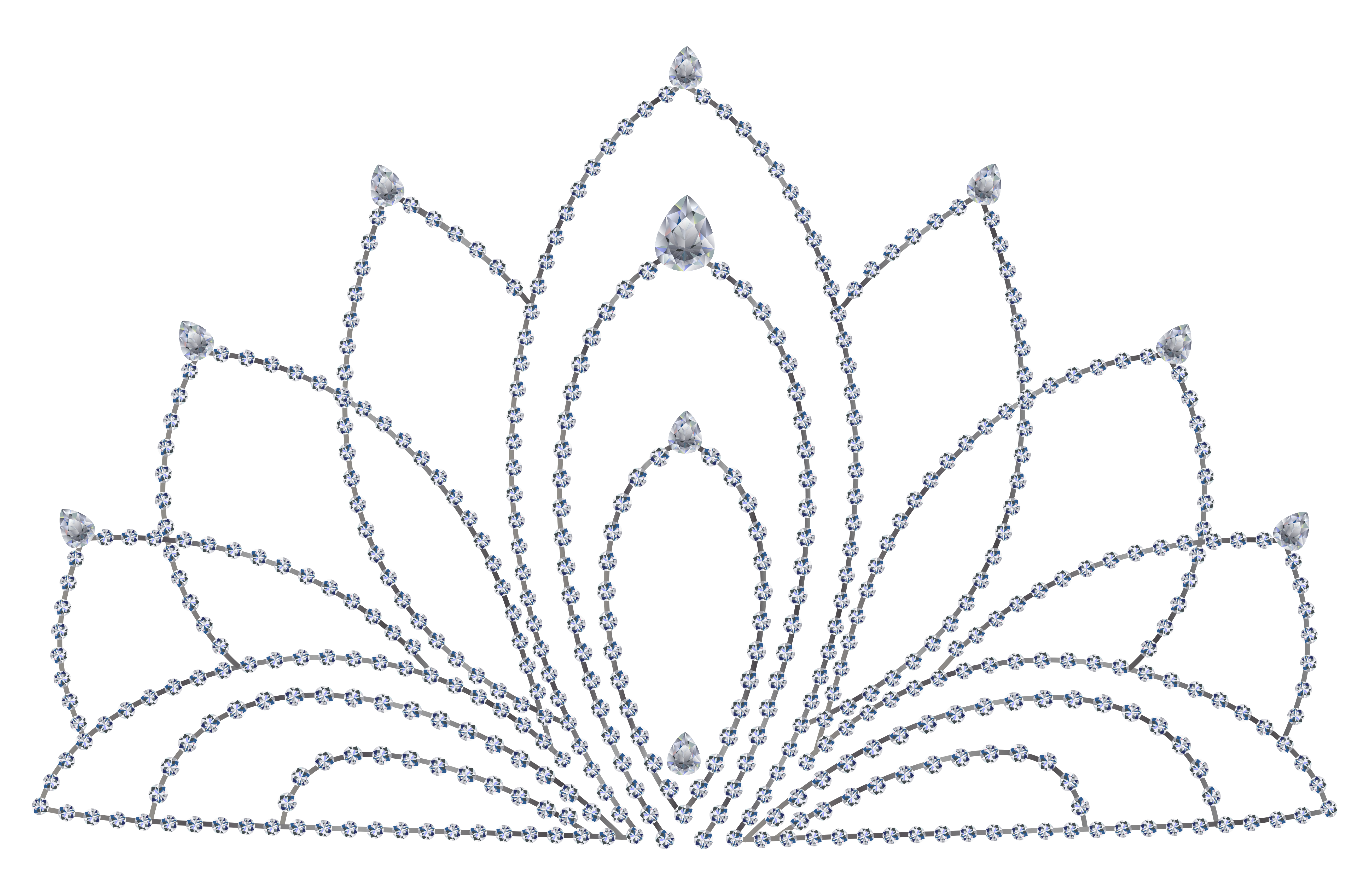 image library library Black and white crown clipart. Diamond clear background frames