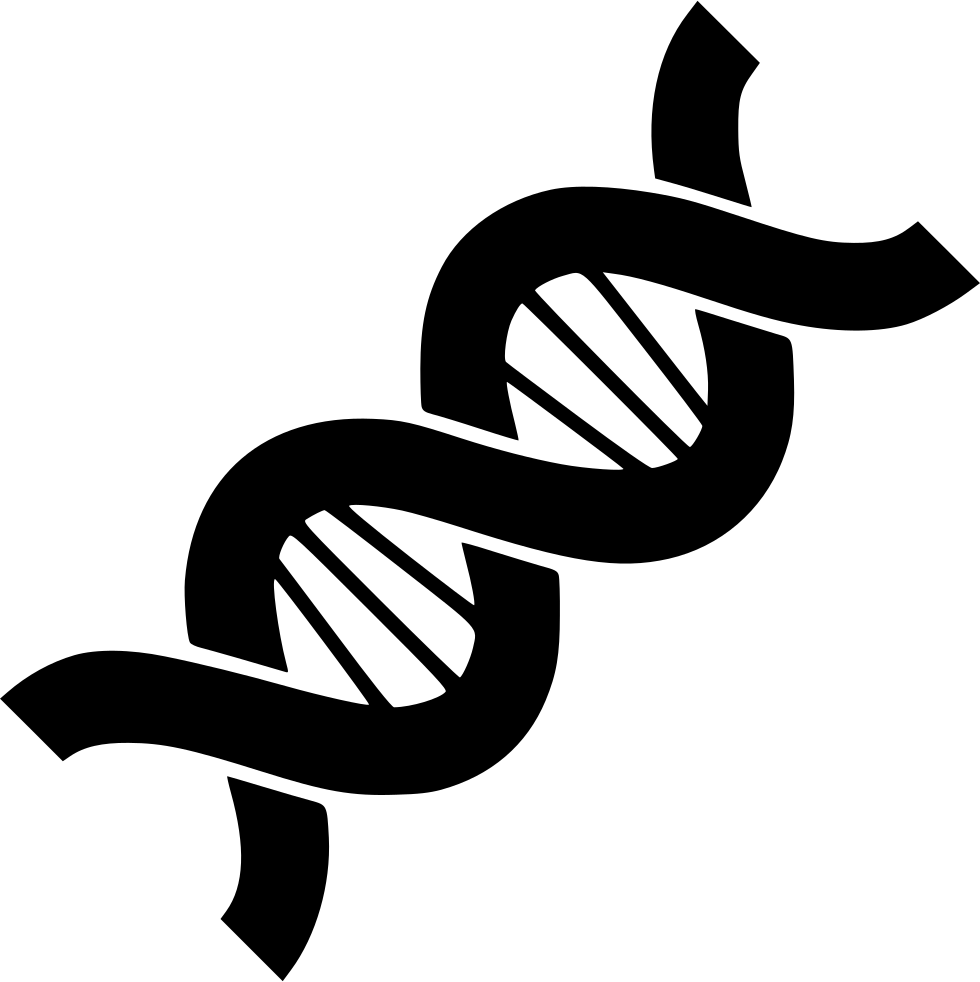 clip free stock Biology structure chain helix. Black and white dna clipart