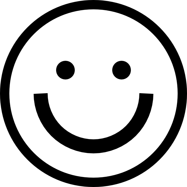 png black and white Black and White Smiley transparent PNG