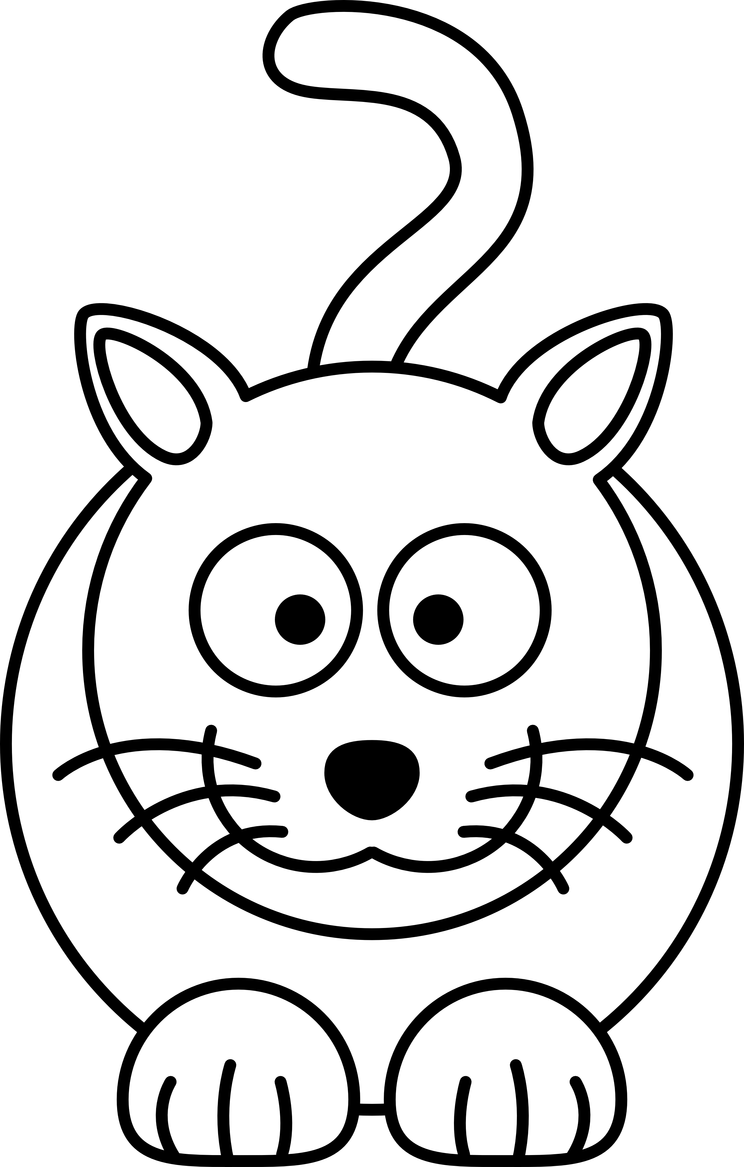 picture black and white stock Black cat clipart puppy. Drawing printables simple