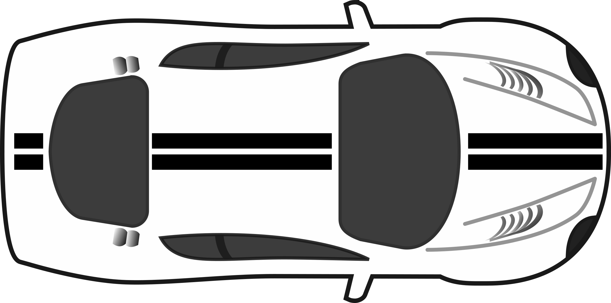 vector transparent download Black And White Race Car PNG Transparent Black And White Race Car