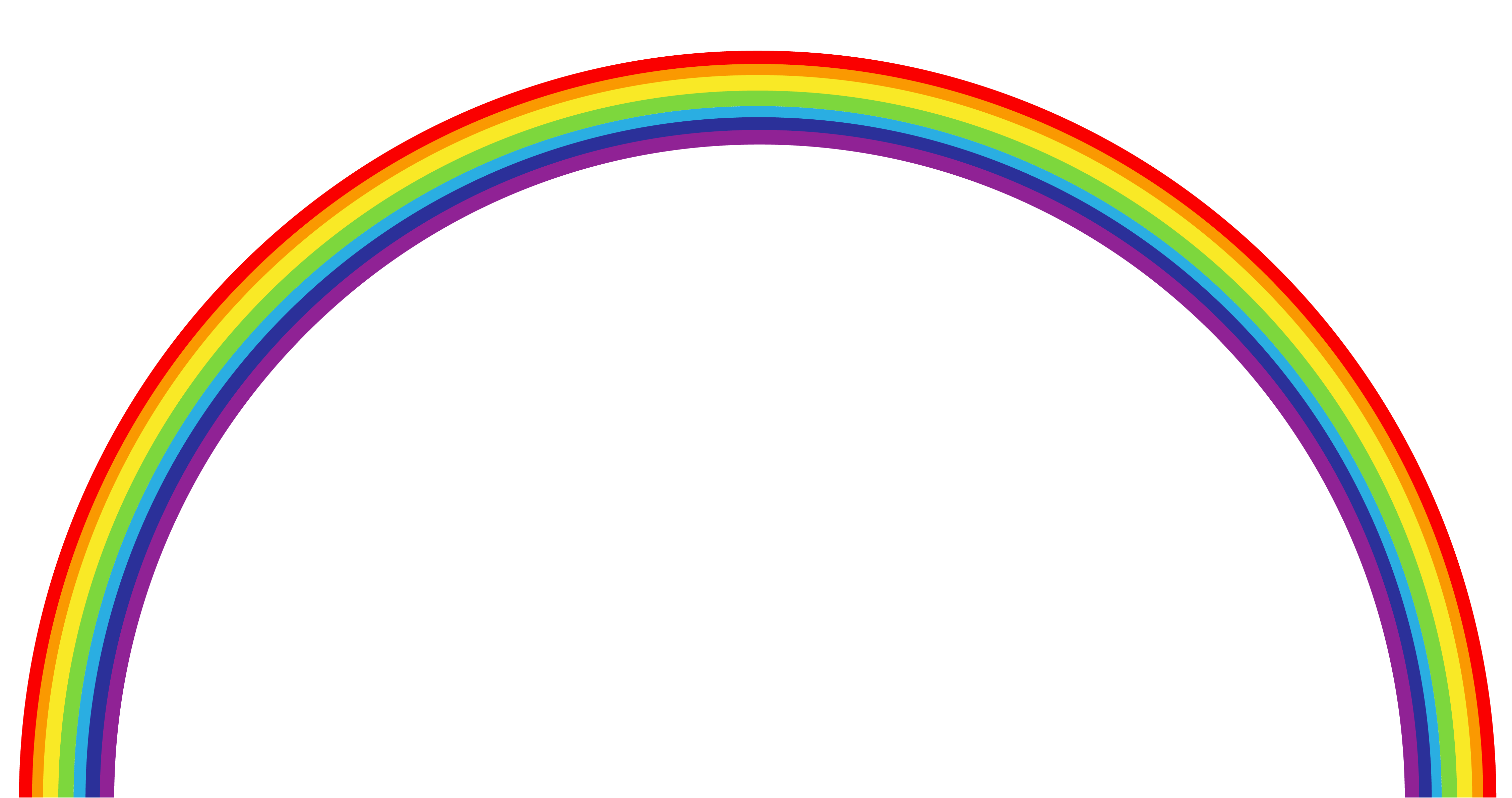 banner royalty free stock . Black and white rainbow clipart