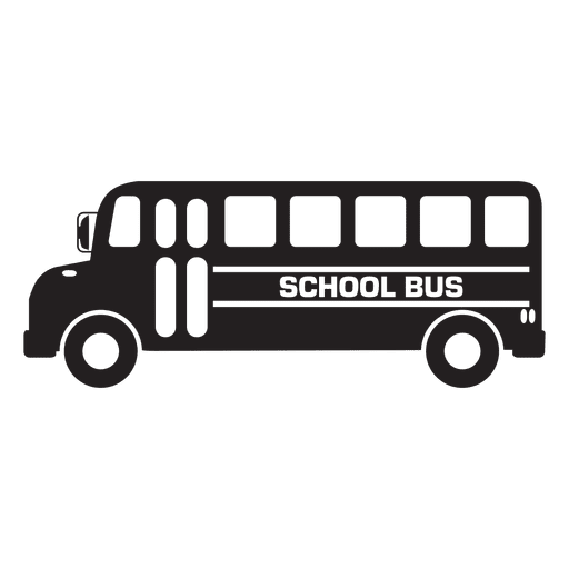 image freeuse Vector bus transparent. School graphic icon png