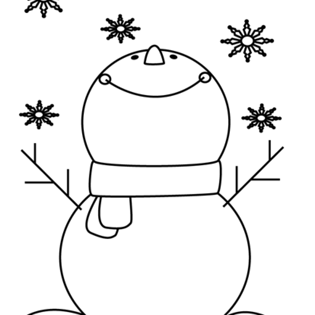 clip art free Birthday hatenylo com catching. Black and white snowman clipart