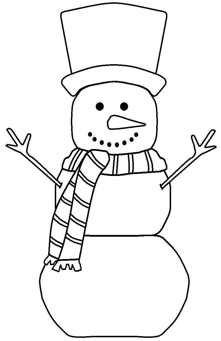 image black and white Graphics by ruth snowmen. Black and white snowman clipart