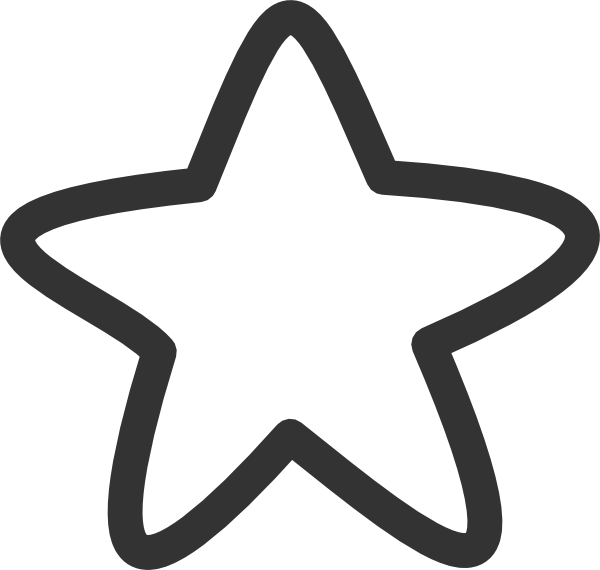 clip black and white download Black And White Star Clip Art at Clker