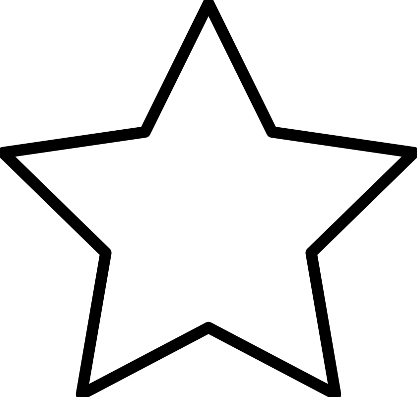 black and white stock Image of star related. Black and white stars clipart