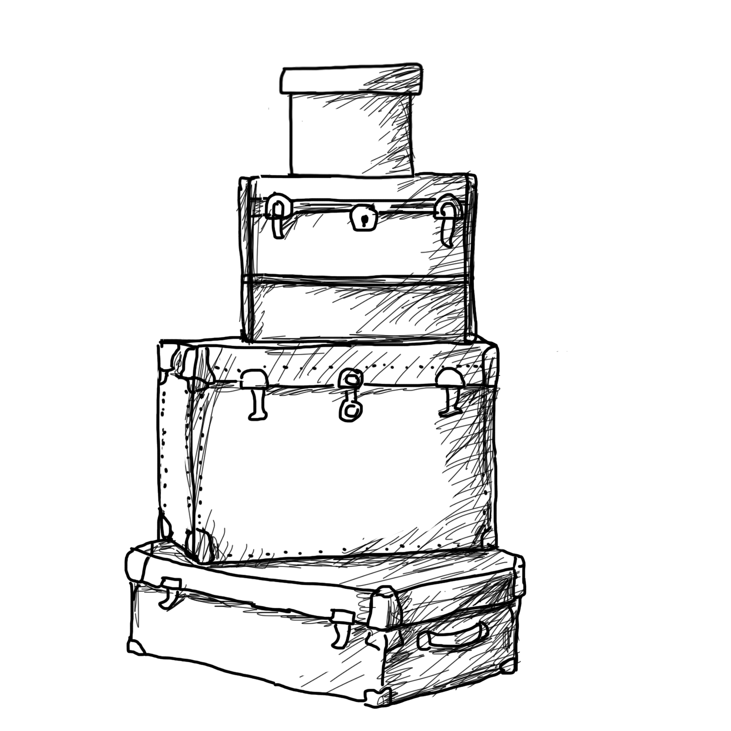clip art library download Suitcase at getdrawings com. Luggage drawing