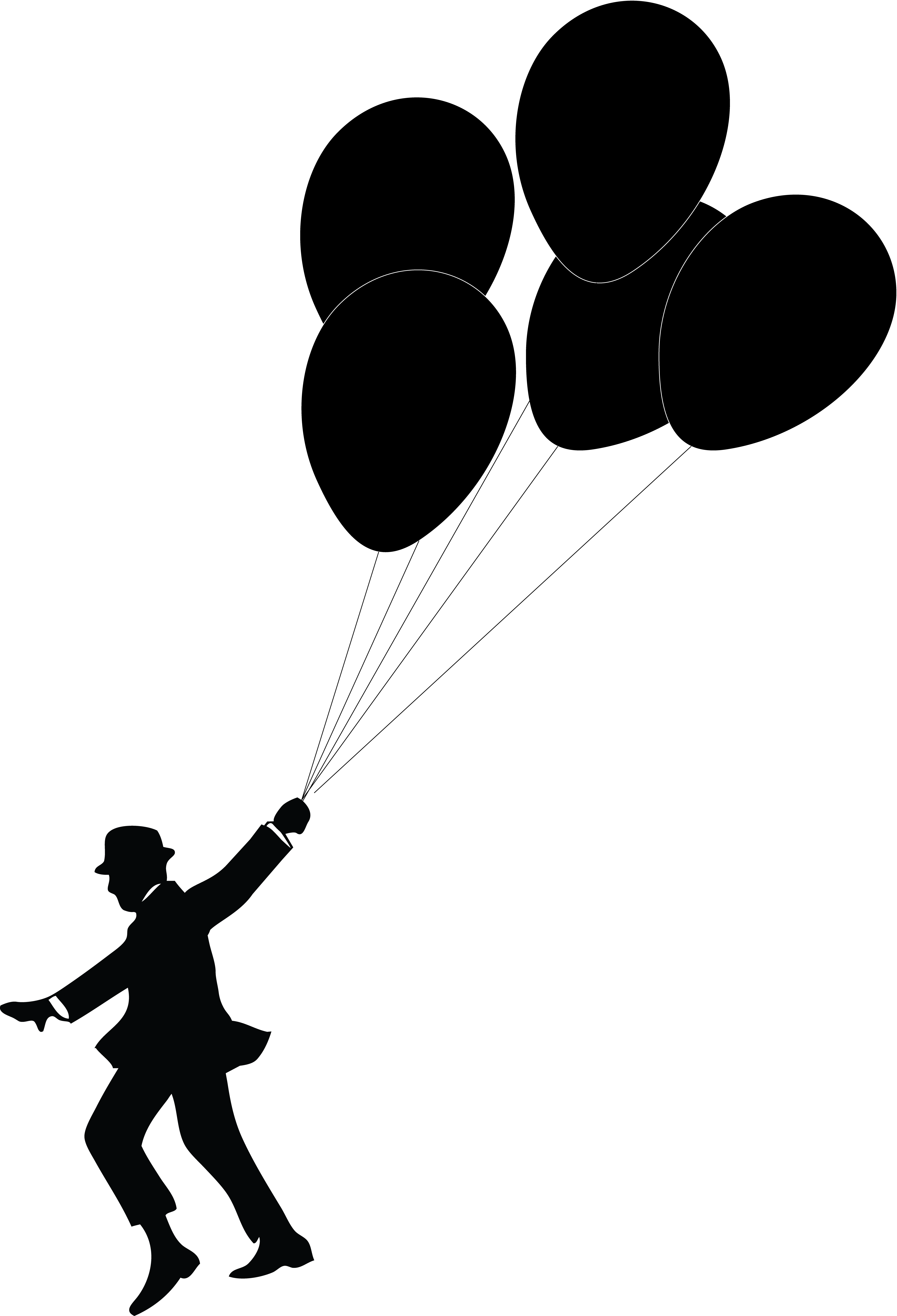 vector free download Silhouette at getdrawings com. Vector balloon