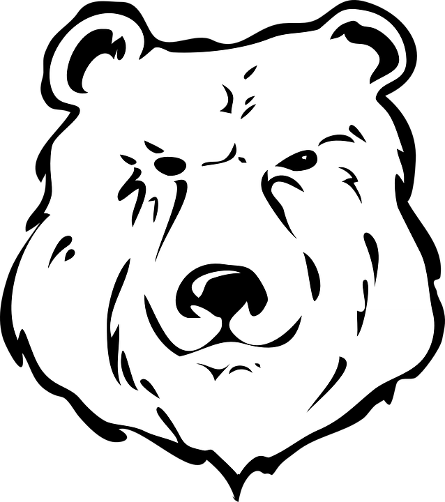 clip art library download Black bear clipart black and white. Shop of library buy