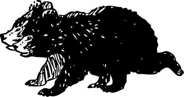 library Black Bear Cubs Clip Art at Clker