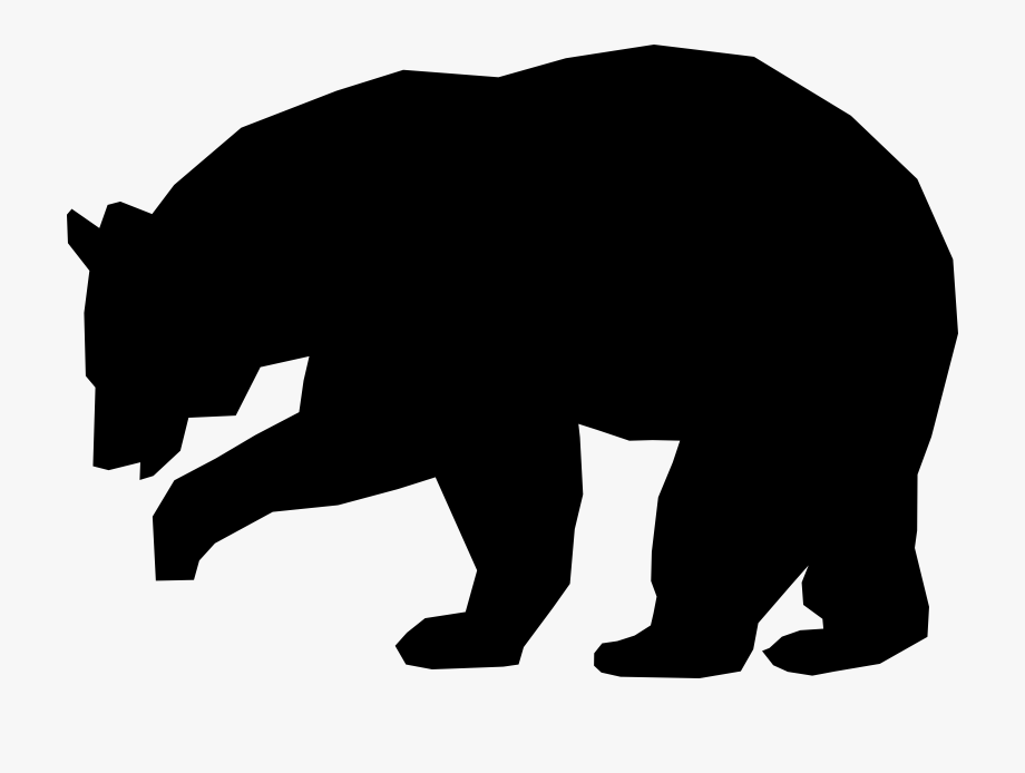 jpg stock American polar grizzly drawing. Black bear clipart black and white