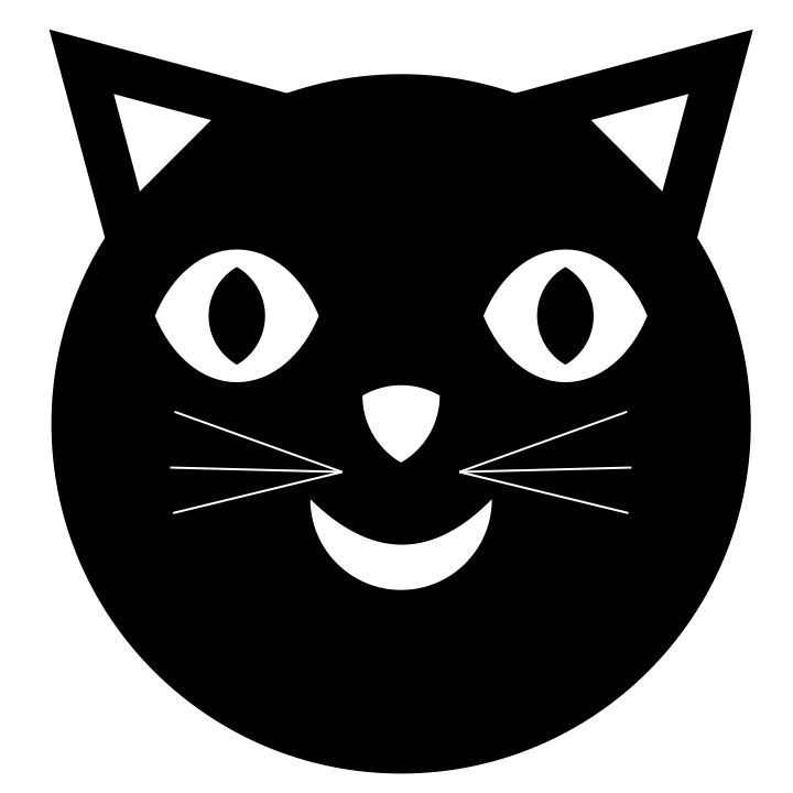 jpg free library Happy by binary on. Black cat face clipart