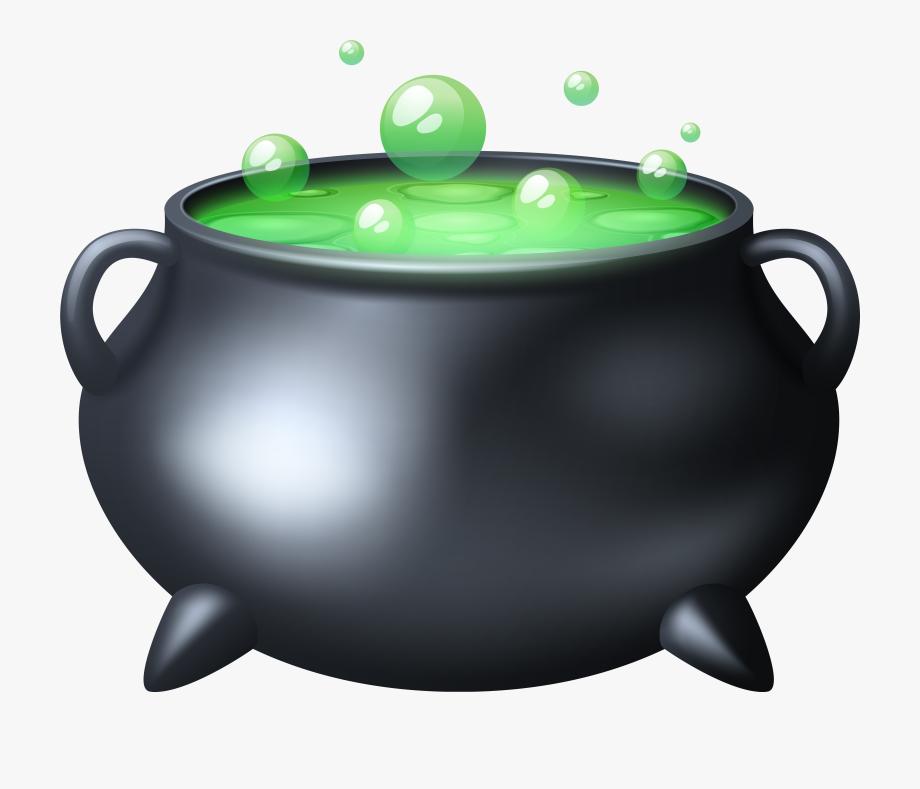 clipart free stock Clipartfest transparent cartoon . Black cauldron clipart.