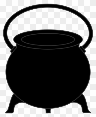 picture library library Free png clip art. Black cauldron clipart.