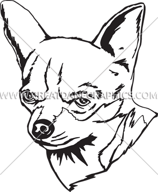 download Black chihuahua clipart. Production ready artwork for.