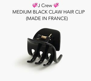 image freeuse Black clip claw. Details about j crew