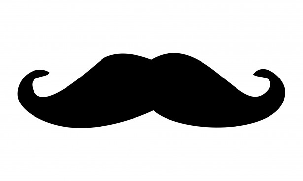 clip royalty free download Moustache free stock photo. Black clipart