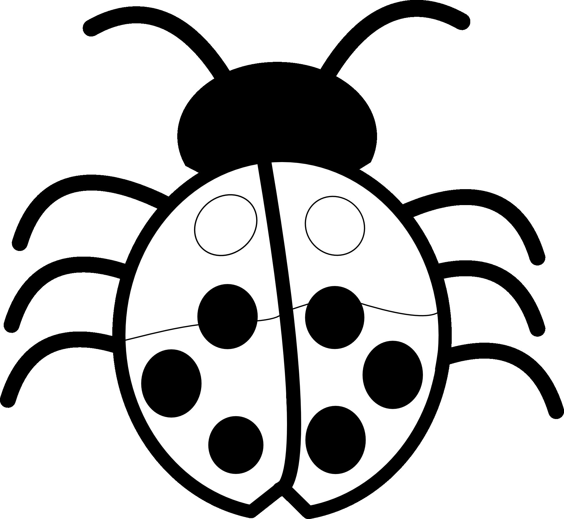 vector black and white stock Bug clip art net. Ladybug clipart black and white