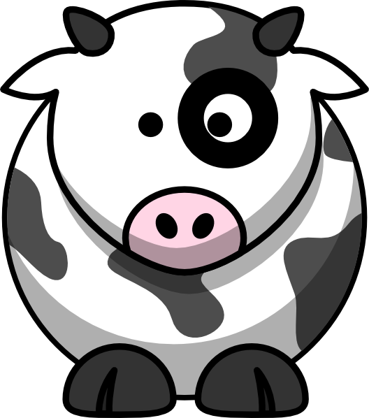 free library Blackeye Moo Clip Art at Clker