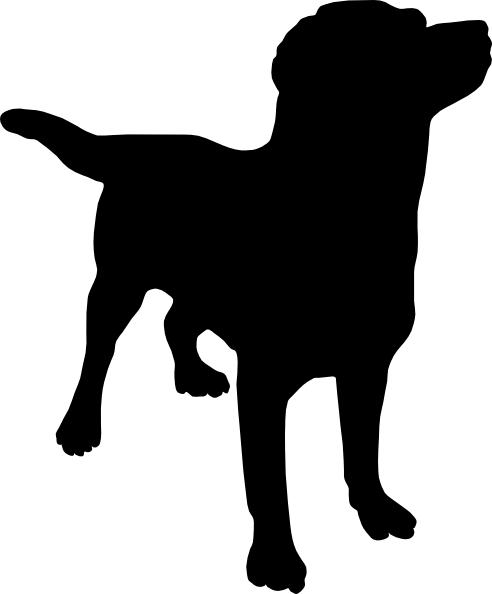 graphic library library Dog Silhouette SVG Downloads